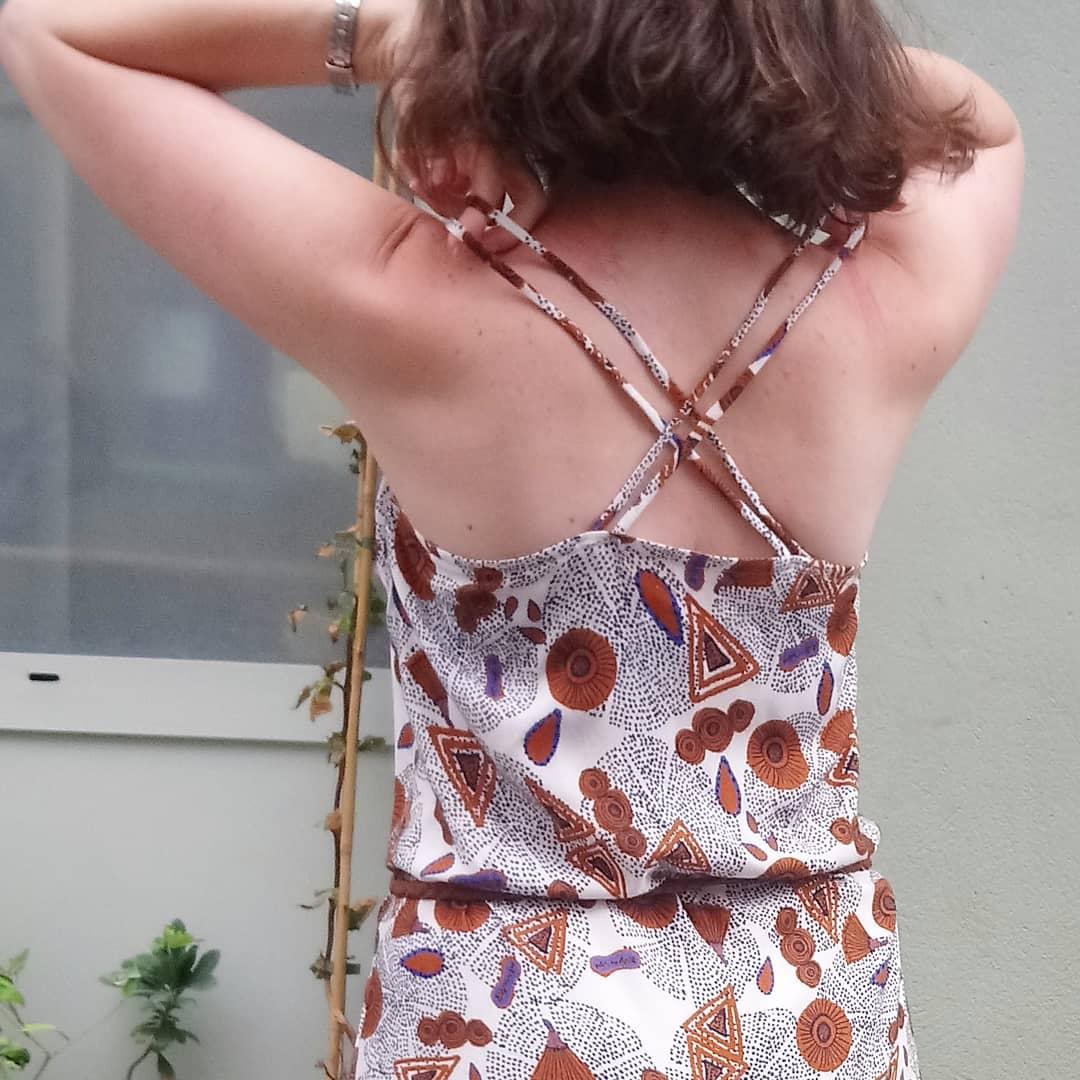 La Robe Longue D Ete Modification De Modification De Patron Ateliers By The Way